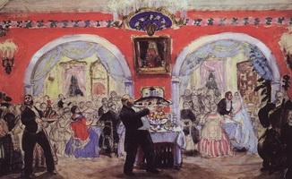 Купеческая свадьба (Б. Кустодиев, 1917 г.)