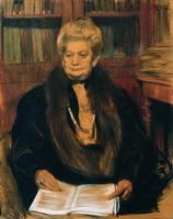 Портрет писательницы Александры Васильевны Шварц (1906 г.)