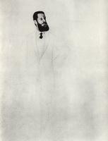 Портрет С.Н. Тройницкого (Б.М. Кустодиев, 1922 г.)