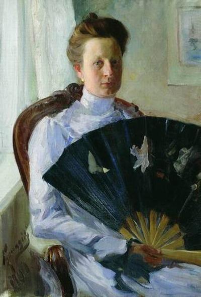 Портрет А.Н. Протасовой.