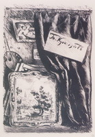 Фронтиспис (Б.М. Кустодиев, 1922 г.)
