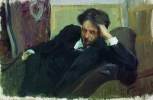 Портрет Д.Ф. Богословского (Б.М. Кустодиев, 1902 г.)