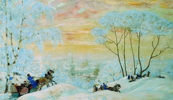 Масленица (Б. Кустодиев, 1916 г.)