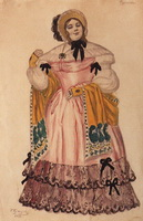 Фурначева (Б.М. Кустодиев, 1914 г.)