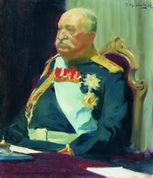 Портрет графа Н.П. Игнатьева (Б.М. Кустодиев, 1902 г.)