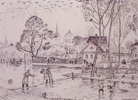 Весна (Б. Кустодиев, 1921 г.)