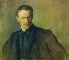 Портрет Л.П. Альбрехта (Б.М. Кустодиев, 1905 г.)