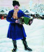 Деревенская масленица (Б. Кустодиев, 1916 г.)