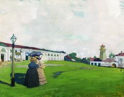 Провинция - Кострома (Б.М. Кустодиев, 1906 г.)