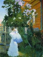 Сирень (Б.М. Кустодиев, 1906 г.)