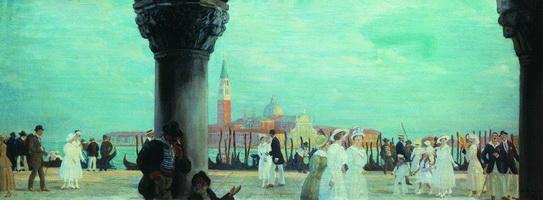 Набережная Венеции (Б. Кустодиев, 1908-1918 гг.)