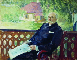 Портрет Н.А. Подсосова (Б.М. Кустодиев, 1906 г.)