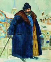 Купец (Б. Кустодиев, 1920 г.)