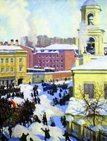 27 февраля 1917 года (Б. Кустодиев, 1917 г.)