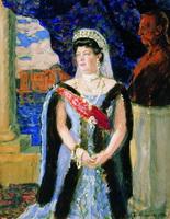 Портрет великой княгини Марии Павловны (Б.М. Кустодиев, 1911 г.)