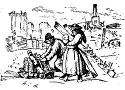 Рисунок периода гражданской войны